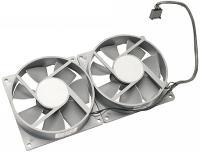 076-1047 Fan Kit, Rear Exhaust, w/Cable, Dual